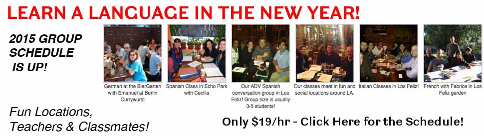 2015 language group classes 2015