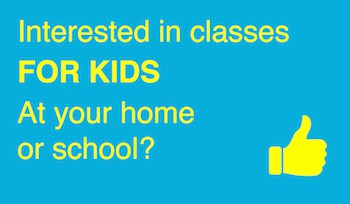 Classes for Kids at Your Home or in School