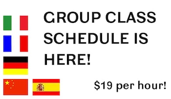 Group Language Classes in Los Angeles